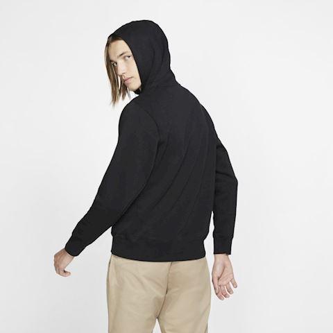 Nike SB Icon Men's Pullover Skate Hoodie - Black Image 2
