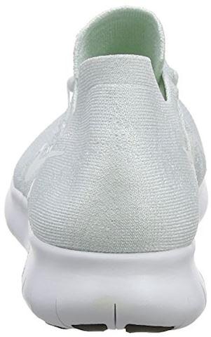 Nike Free RN Flyknit 2017 Men's Running Shoe - White Image 2