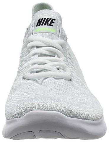 Nike Free RN Flyknit 2017 Men's Running Shoe - White Image 4