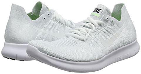 Nike Free RN Flyknit 2017 Men's Running Shoe - White Image 5