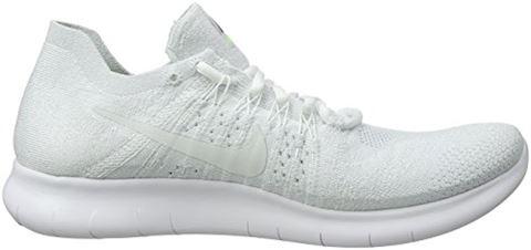 Nike Free RN Flyknit 2017 Men's Running Shoe - White Image 6