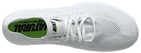Nike Free RN Flyknit 2017 Men's Running Shoe - White Image 7