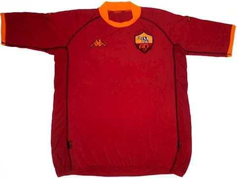Kappa Roma Kids SS Home Shirt 2002/03 Image
