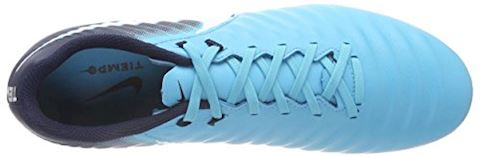 Nike Tiempo Ligera IV Firm-Ground Football Boot - Blue Image 7