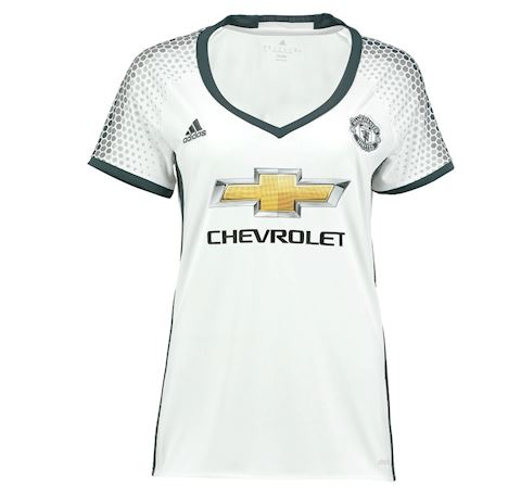 adidas Manchester United Womens SS Third Shirt 2016/17 Image