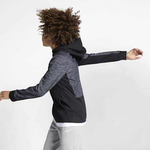 Nike Sportswear Advance 15 Older Kids' (Boys') Full-Zip Hoodie - Black Image 2