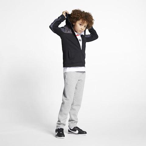 Nike Sportswear Advance 15 Older Kids' (Boys') Full-Zip Hoodie - Black Image 4