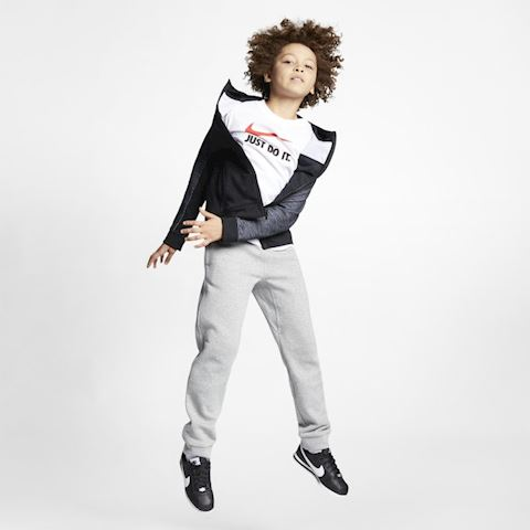 Nike Sportswear Advance 15 Older Kids' (Boys') Full-Zip Hoodie - Black Image 5