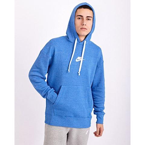 Nike Sportswear Heritage Men's Pullover Hoodie - Blue Image