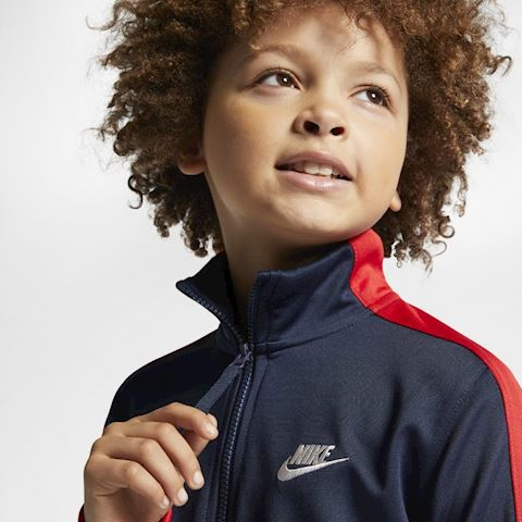 Nike Air Older Kids' Tracksuit - Red Image 3