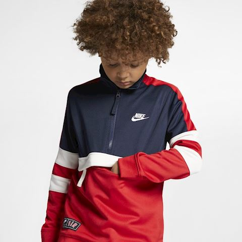 Nike Air Older Kids' Tracksuit - Red Image 4