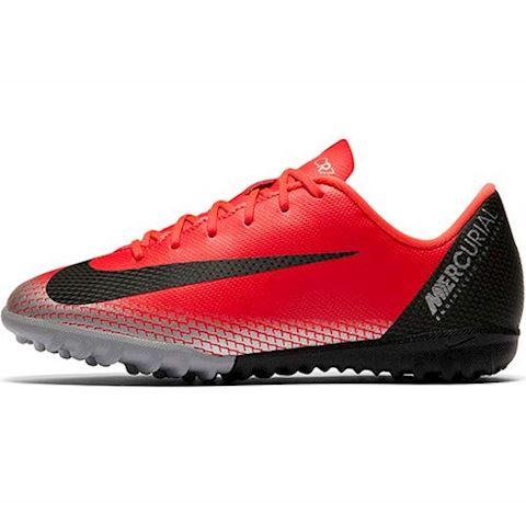 Nike Jr. MercurialX Vapor XII Academy CR7 Younger/Older Kids'Turf Football Shoe - Red Image 2