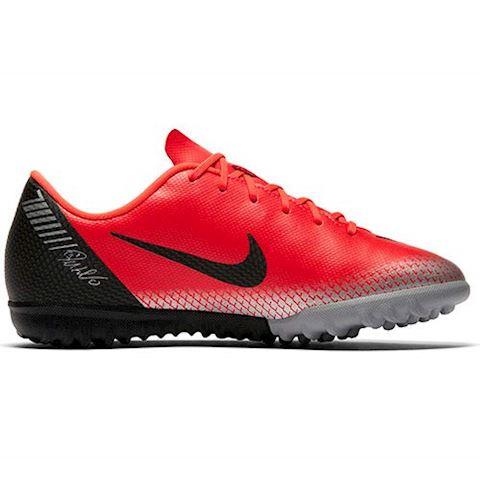 Nike Jr. MercurialX Vapor XII Academy CR7 Younger/Older Kids'Turf Football Shoe - Red Image 3