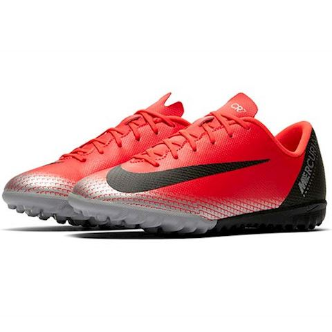 new arrivals d4219 a231a Nike Jr. MercurialX Vapor XII Academy CR7 Younger/Older Kids'Turf Football  Shoe - Red
