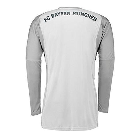 adidas Bayern Munich Mens LS Goalkeeper Home Shirt 2018/19 Image 2