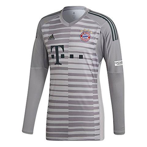 adidas Bayern Munich Mens LS Goalkeeper Home Shirt 2018/19 Image 3