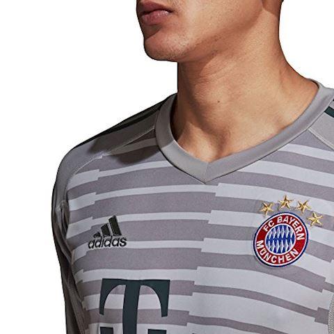 adidas Bayern Munich Mens LS Goalkeeper Home Shirt 2018/19 Image 5