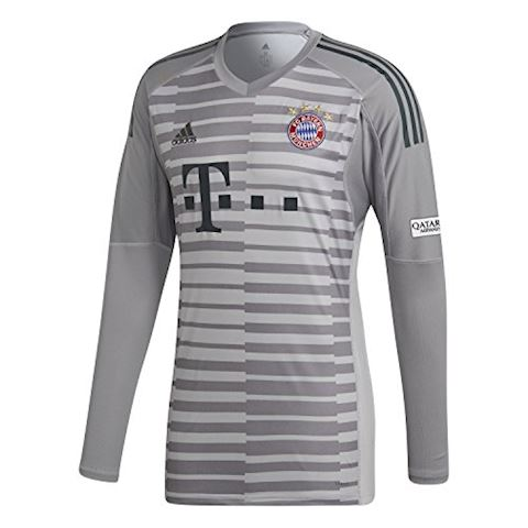 adidas Bayern Munich Mens LS Goalkeeper Home Shirt 2018/19 Image 7