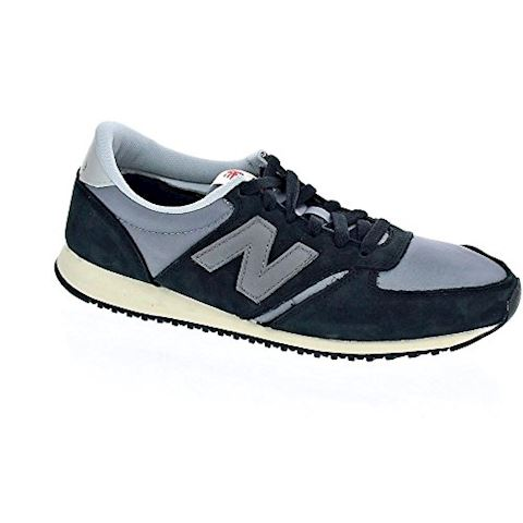 New Balance  U420  women's Shoes (Trainers) in Black Image 12