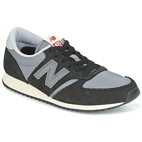 New Balance  U420  women's Shoes (Trainers) in Black Image 5