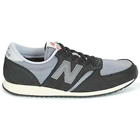 New Balance  U420  women's Shoes (Trainers) in Black Image 6
