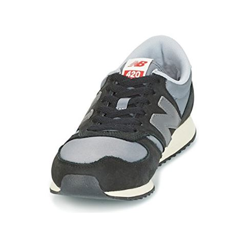 New Balance  U420  women's Shoes (Trainers) in Black Image 7