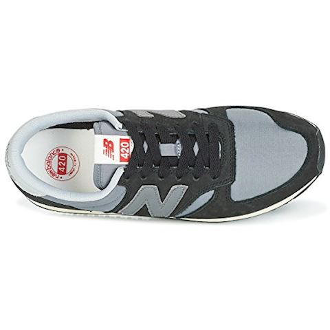 New Balance  U420  women's Shoes (Trainers) in Black Image 10