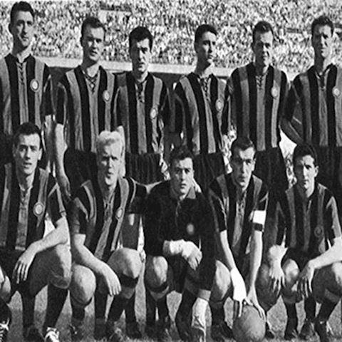 Inter Milan Mens SS Home Shirt 1958/59 Image 8