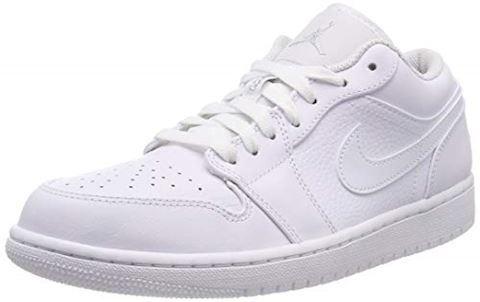Nike Air Jordan 1 Low Men's Shoe - White Image