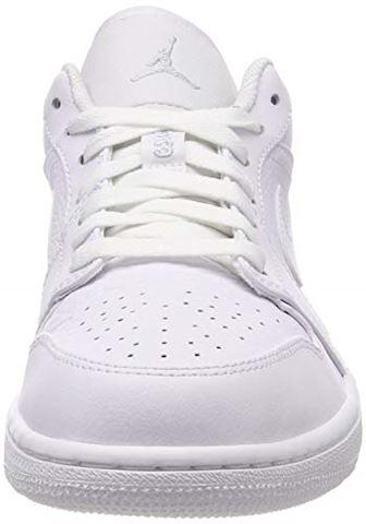 Nike Air Jordan 1 Low Men's Shoe - White Image 4