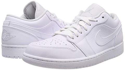 Nike Air Jordan 1 Low Men's Shoe - White Image 5