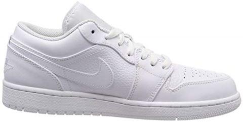 Nike Air Jordan 1 Low Men's Shoe - White Image 6