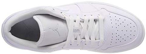 Nike Air Jordan 1 Low Men's Shoe - White Image 7