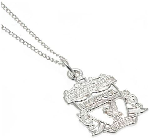 Sterling Silver Liverpool FC Crest Pendant Image