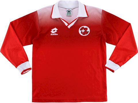 Lotto Switzerland Kids LS Home Shirt 1996 Image