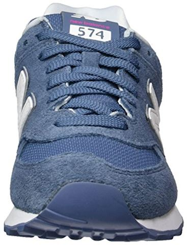 New Balance 574 Suede Women's Shoes Image 4