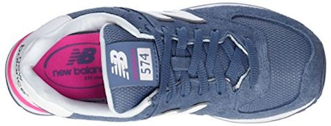 New Balance 574 Suede Women's Shoes Image 7