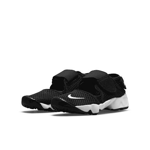 Nike Air Rift (10.5c-3y) Kids' Shoe - Black Image 2