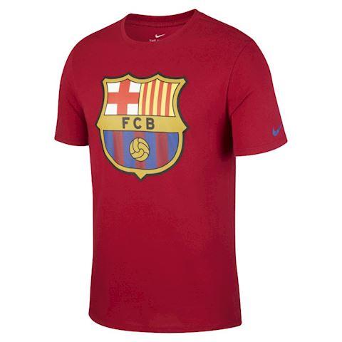 Nike FC Barcelona Crest Men's T-Shirt - Red