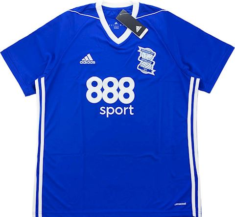 adidas Birmingham City Mens SS Home Shirt 2017/18 Image