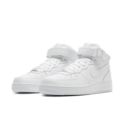 Nike Air Force 1 Mid' 07 Men's Shoe - White Image 2