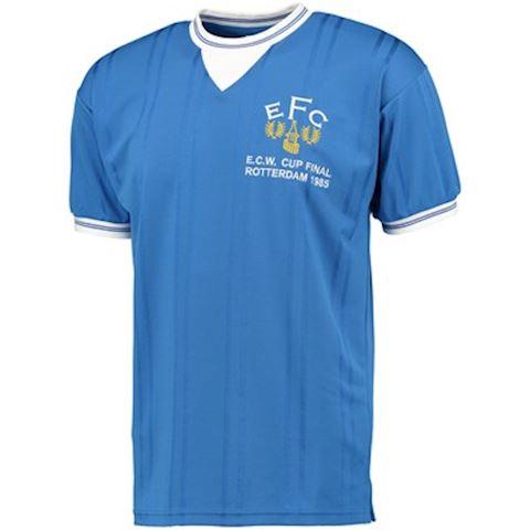Score Draw Everton Mens SS Home European Shirt 1985/86 Image