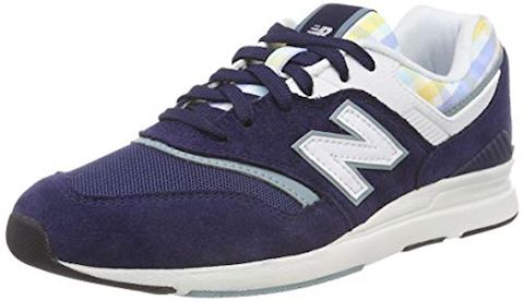New Balance  WL697  women's Shoes (Trainers) in Blue Image