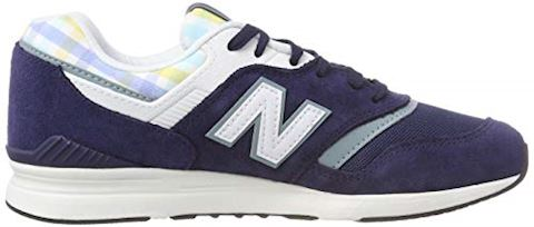 New Balance  WL697  women's Shoes (Trainers) in Blue Image 6