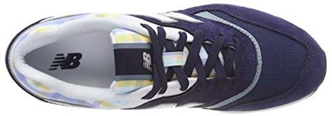 New Balance  WL697  women's Shoes (Trainers) in Blue Image 7
