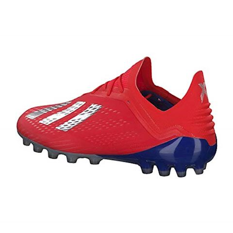size 40 ebb2f 3ec98 adidas X 18.1 AG Exhibit - Action Red Silver Metallic Bold Blue Image 3