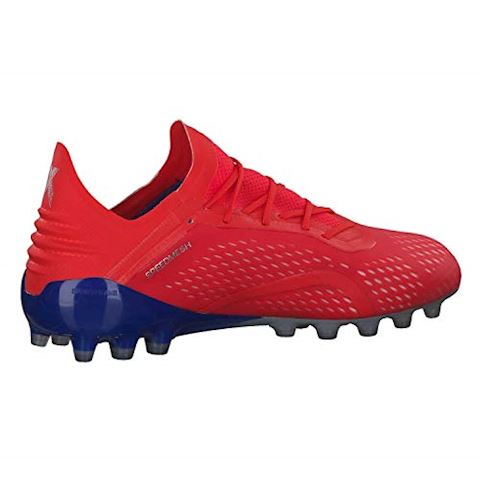 separation shoes a9cd8 5e947 adidas X 18.1 AG Exhibit - Action Red Silver Metallic Bold Blue Image 7