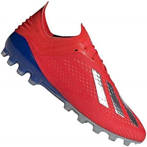 newest collection 0c1aa ee7bb adidas X 18.1 AG Exhibit - Action Red Silver Metallic Bold Blue Image 10