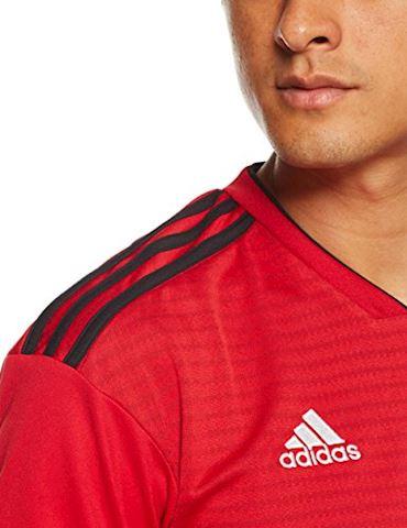 adidas Manchester United Mens SS Home Shirt 2018/19 Image 3