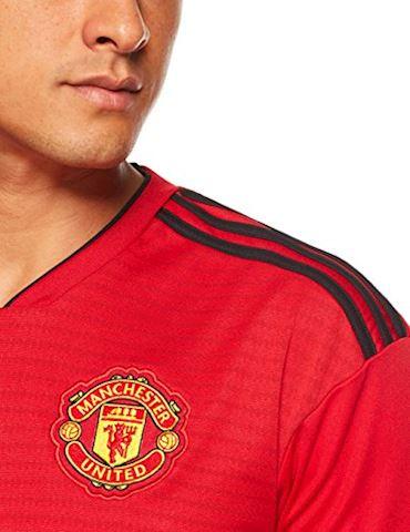 adidas Manchester United Mens SS Home Shirt 2018/19 Image 4